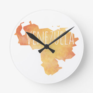 Venezuela Round Clock