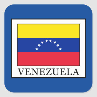 Venezuela Square Sticker