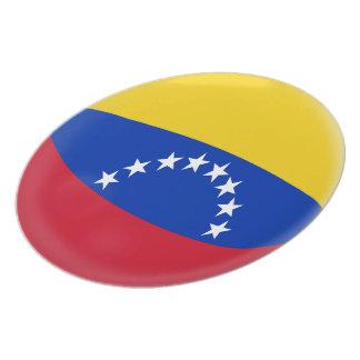 Venezuela Venezuelan Flag Plate