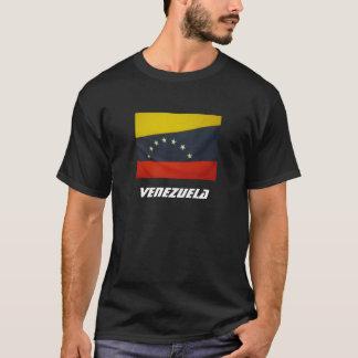 Venezuela wavy flag tee