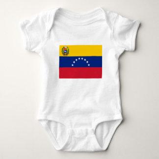Venezuelan Flag - Flag of Venezuela - Bandera Baby Bodysuit