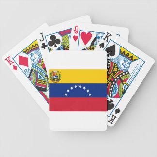 Venezuelan Flag - Flag of Venezuela - Bandera Bicycle Playing Cards