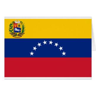 Venezuelan Flag - Flag of Venezuela - Bandera Card