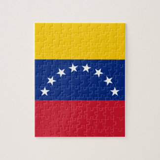 Venezuelan Flag - Flag of Venezuela - Bandera Jigsaw Puzzle