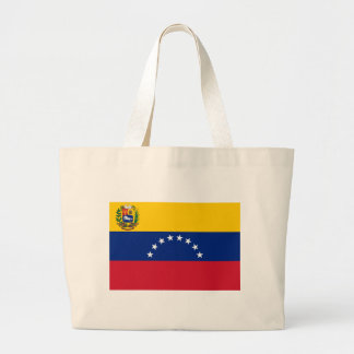 Venezuelan Flag - Flag of Venezuela - Bandera Large Tote Bag