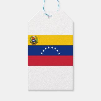 Venezuelan Flag - Flag of Venezuela - Bandera Pack Of Gift Tags