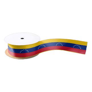Venezuelan flag ribbon satin ribbon