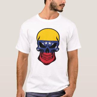 Venezuelan Flag Skull T-Shirt