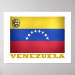 Venezuelan National Flag Poster