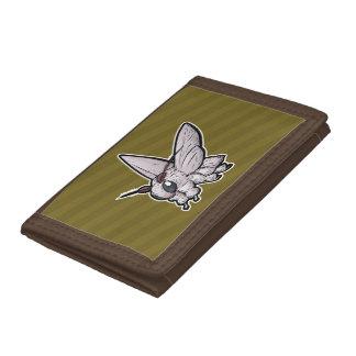 Venezuelan Poodle Moth Tri-fold Wallet