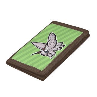 Venezuelan Poodle Moth Trifold Wallets