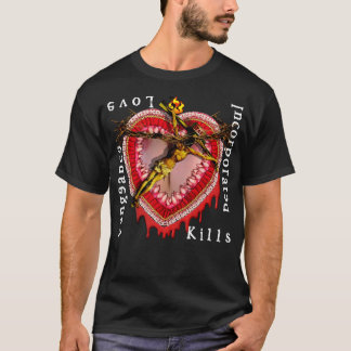 Vengeance Incorporated Love Kills logo T-Shirt