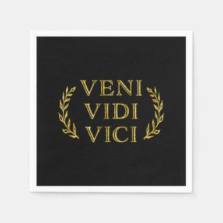 Veni Vidi Vici Funny Game Winner Disposable Napkin