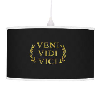 Veni Vidi Vici Funny Game Winner Pendant Lamp
