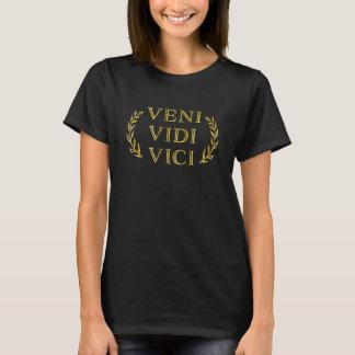 Veni Vidi Vici Funny Game Winner T-Shirt