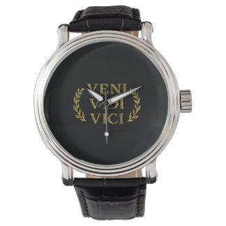 Veni Vidi Vici Funny Game Winner Watch