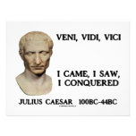 Veni, Vidi, Vici - I Came, I Saw, I Conquered Invitations