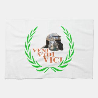 Veni Vidi Vici Towels