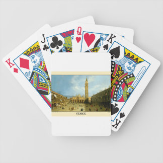 Venice 1720 bicycle playing cards