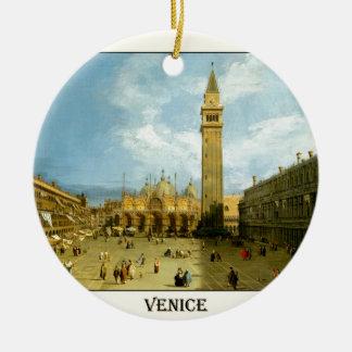 Venice 1720 ceramic ornament