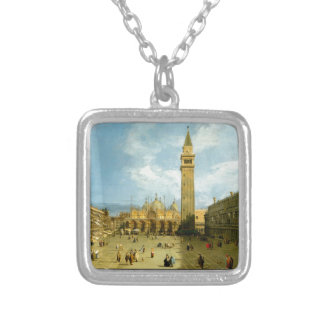 Venice 1720 silver plated necklace