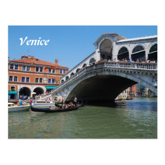Venice 2016 Calendar Postcard