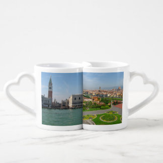 Venice and Florence Coffee Mug Set