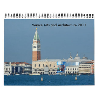 Venice Arts and Architecture 2012 Calendar
