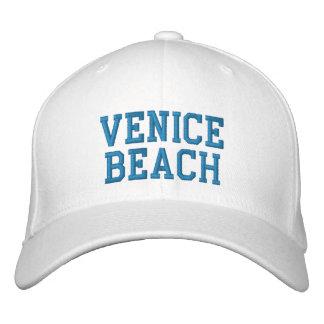 VENICE BEACH BASIC EMBROIDERED FLEX-IT WOOL CAP