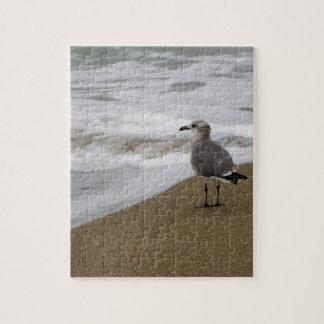 Venice Beach Bird Jigsaw Puzzle