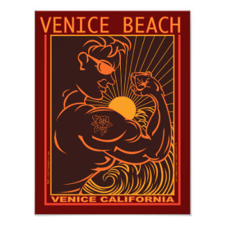 VENICE BEACH CALIFORNIA PHOTOGRAPH