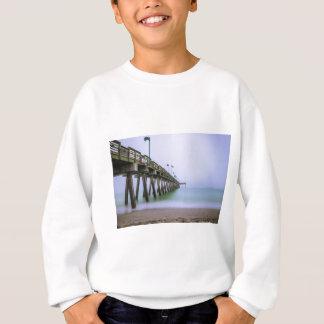 Venice Beach Pier on a Foggy Day Sweatshirt