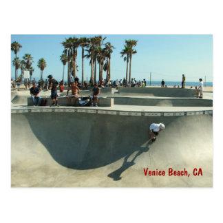 Venice Beach Skateboarding Postcard! Postcard