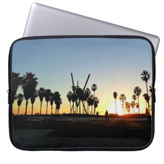 Venice Beach Sunset Computer Sleeve