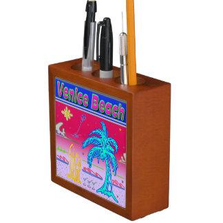 """Venice Beach"" Surfer Desk Organizer"