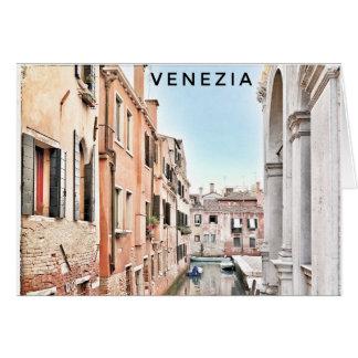 Venice Blank Greeting Card