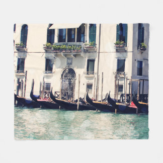Venice Bokeh VI Fleece Blanket