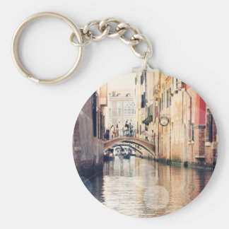 Venice Bokeh XIV Keychain