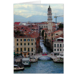 Venice Bridge Card
