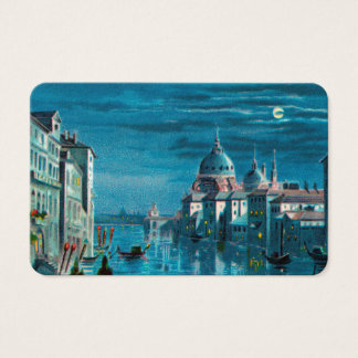 Venice by Moonlight Business Card