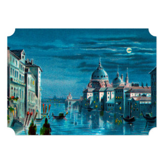 Venice by Moonlight Card