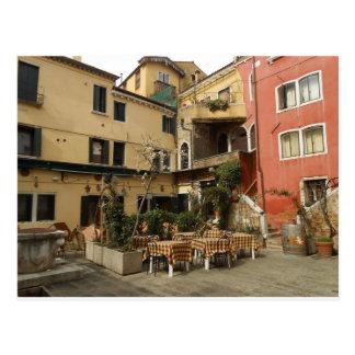 Venice Cafe Postcard