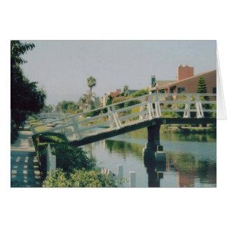 Venice Canal -California Card