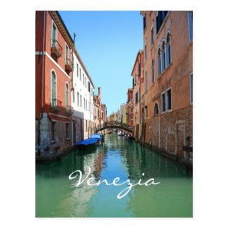 Venice Canal custom postcard