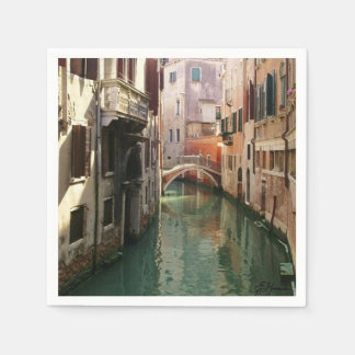 Venice Canal Disposable Napkin