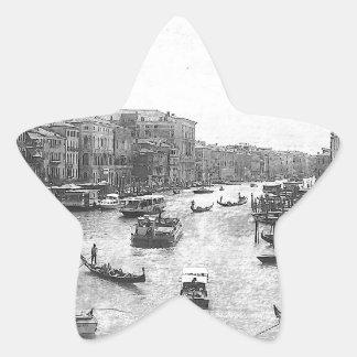 Venice Canal Star Sticker