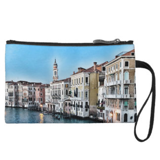 Venice Canal Wristlet