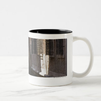 Venice Canals and Stone bridge Two-Tone Coffee Mug
