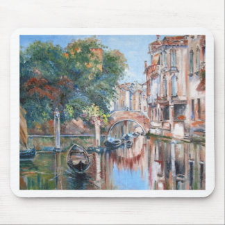 Venice canals mouse pad