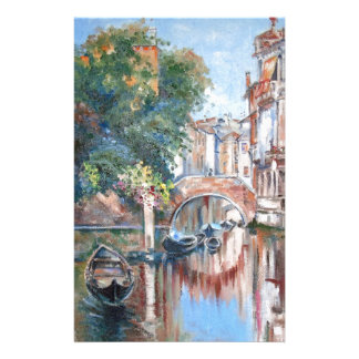 Venice canals stationery